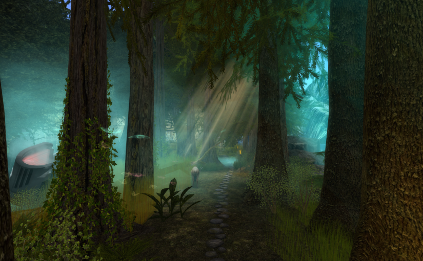 Sindaria Part 1 – Elven Woodland