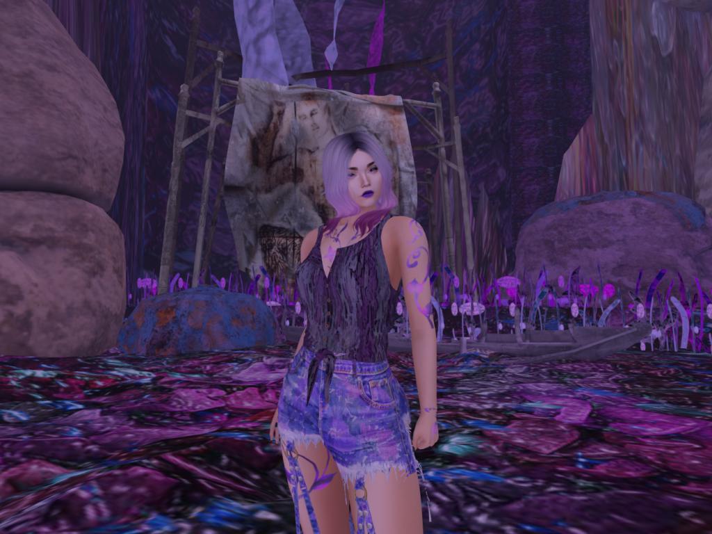 Purple in Paer Thura – Fantasy Faire