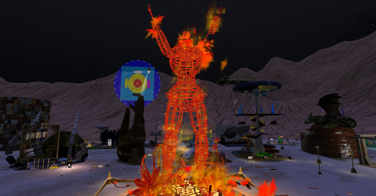 Burn2 – Burning Man Festival in SecondLife