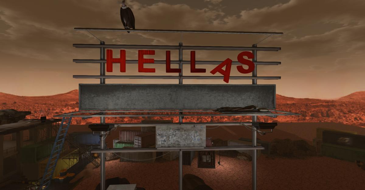 Hellas Planitia Rebuild – a Sneaky visit